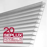 PC-Panel SEPLUX 20 bezbarwny